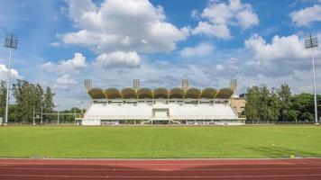 sfondo del campo di calcio foto
