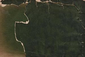 copertina del libro vintage strappata in pelle e tessuto foto