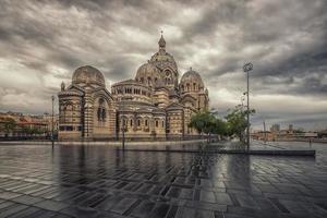 cattedrale di santa maria maggiore a marsiglia, francia foto