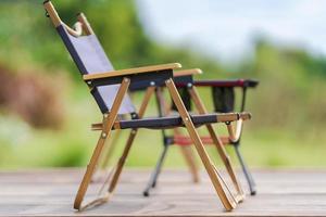 sedia da campo portatile per mobili da giardino foto