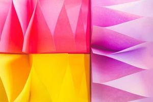 sfondo astratto colorato, fatto di adesivi di carta foto