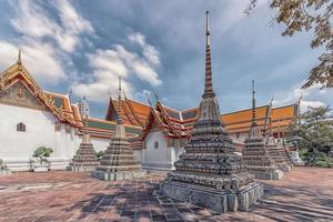 Tempio Wat Pho a Bangkok, Tailandia foto
