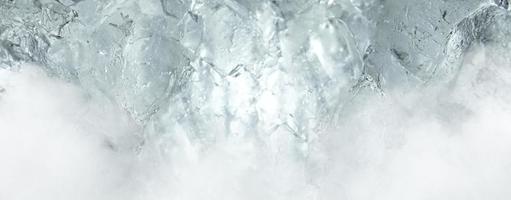 trama del modello di allume bianco e sfondo di nebbia. foto