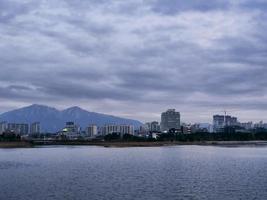 la baia della città di sokcho foto