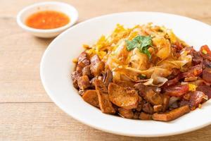 spaghetti di riso cinesi al vapore foto