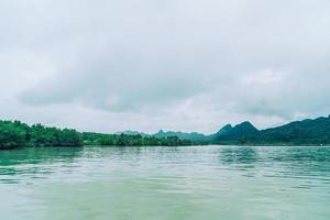 Talet Bay a Khanom, Nakhon Sri Thammarat, Thailandia foto