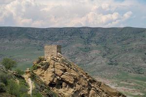 monastero e grotte di david gareja in georgia foto