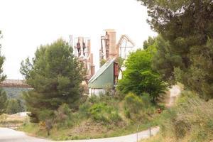ex cementificio, chiuso e abbandonato. foto