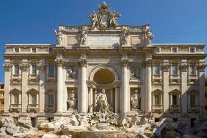 Fontana di Trevi a Roma, Italia foto