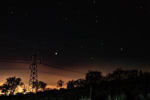 il paesaggio stellato foto