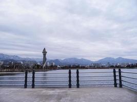 la baia della città di sokcho, corea del sud foto