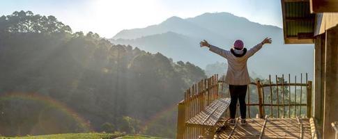 fattoria di fragole di angkhang, provincia di chiang mai foto