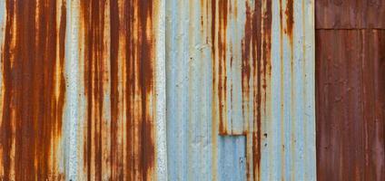 metallo ruggine sfondo, decadimento acciaio foto