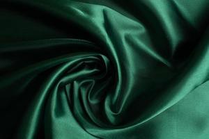 sfondo trama tessuto verde, astratto, trama del primo piano del panno foto