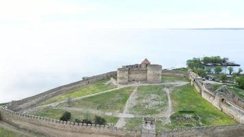 Cittadella dell'antica fortezza akkerman sull'estuario del dniester, nella regione di odessa, ucraina foto
