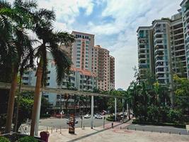 centro della città di shenzhen, cina foto