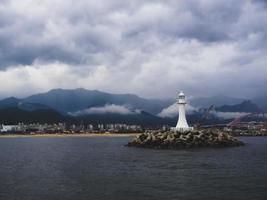 sokcho città dal mare, corea del sud foto