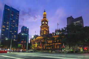 municipio di sydney a sydney, in australia foto