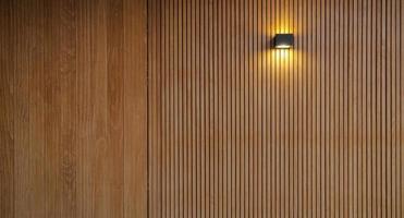 fondo della parete di legno foto