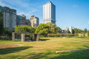 scenario del parco di hsinchu nella città di ssinchu, taiwan foto