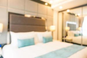 sfocatura astratta sfocato interno camera da letto foto