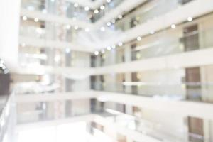 sfocatura astratta e interni sfocati di hotel e lobby foto