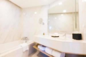 sfocatura astratta bagno foto