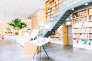 libreria sfocatura astratta foto