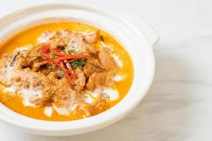 panang curry con maiale foto