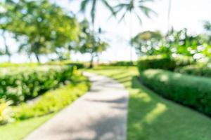 sfocatura astratta resort hotel di lusso per lo sfondo - concetto di vacanza e vacanza foto