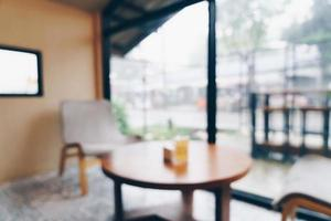 sfocatura astratta caffetteria e bar per lo sfondo foto