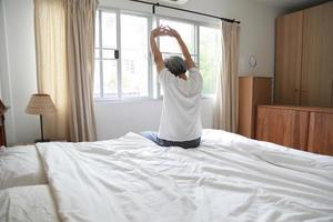 rilassante in camera da letto foto