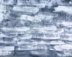 vecchio sfondo muro dipinto di grigio foto