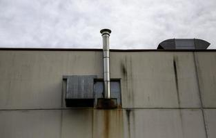 canna fumaria industriale foto