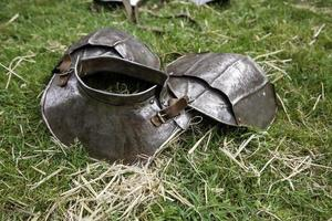 elmo armatura medievale medieval foto