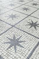 stelle in strada urbana foto
