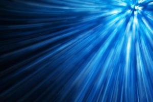 sfondo di colore blu dell'illuminazione del movimento foto
