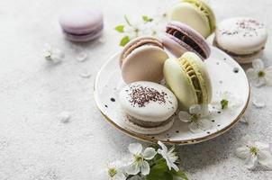 amaretti dolci francesi foto
