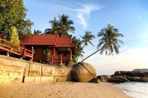 spiaggia in thailandia foto