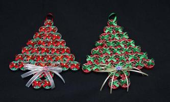 oggetti di decorazione natalizia foto