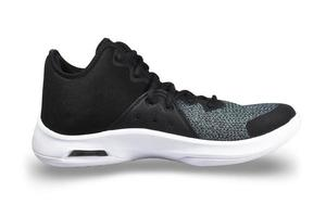 scarpe da corsa sportive di moda su sfondo bianco foto