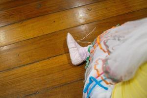 dettagli di una piccola ballerina foto