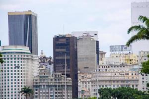edifici del centro della città di rio de janeiro foto