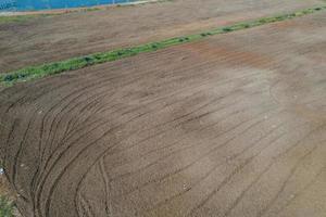sfondo del campo, paesaggio vista dall'alto, natura foto
