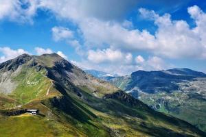 bellissimo paesaggio delle alpi austriache, europa. foto