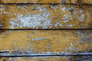 vecchia tavola di legno, superficie grunge stagionata foto