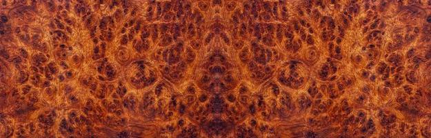bellissimo motivo in legno esotico a strisce in legno di radica di amboyna foto