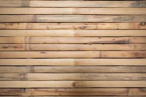 piano del tavolo di tessitura corteccia secca legno di bambù di artigianato foto