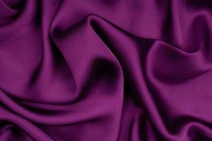 sfondo di trama del tessuto di seta lucida dettagliata foto