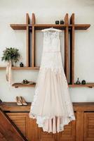 abito da sposa perfetto il giorno del matrimonio foto